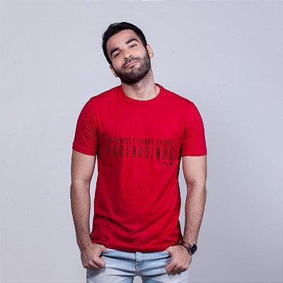 Camiseta Sou Fuderosinho Vermelha
