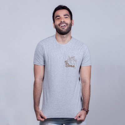 Camiseta The Boas Mescla