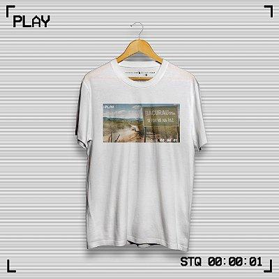Camiseta Bacurau Branca