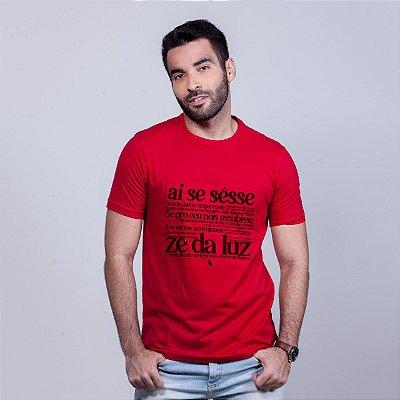 Camiseta Zé da Luz Vermelha