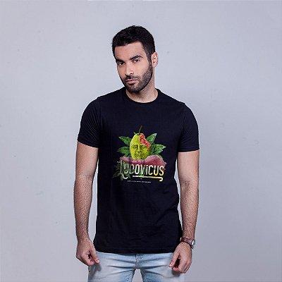 Camiseta Ludovicus Preta RAFFE