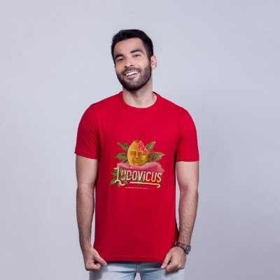 Camiseta Ludovicus Vermelha RAFFE