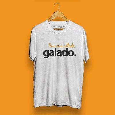 Camiseta Atitude Galado Branca Fórum Negócios
