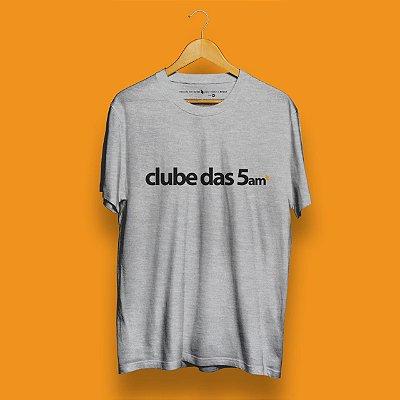 Camiseta Clube das 5am Mescla Fórum Negócios