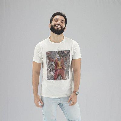 Camiseta Coringa Branca