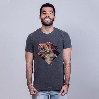 Camiseta Estonada Catrina Chumbo Pedro FTZA