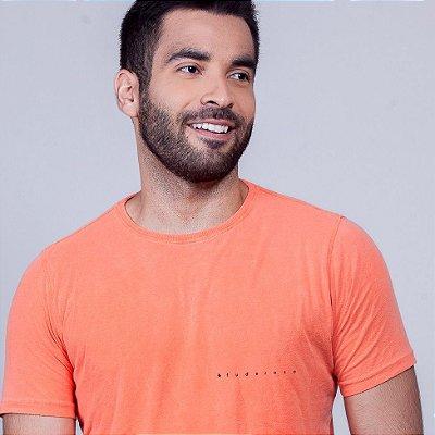 Camiseta Estonada Fuderoso Minimal Laranja