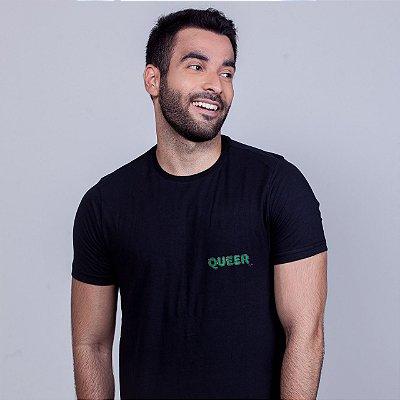 Camiseta Queer Preta Wee