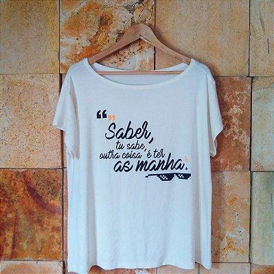 Camiseta as Manhas Branca