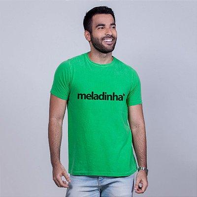 Camiseta Estonada Meladinha Verde