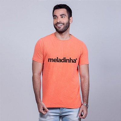 Camiseta Estonada Meladinha Laranja