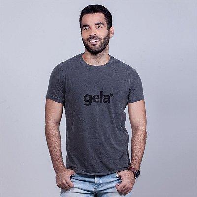 Camiseta Estonada Gela Chumbo