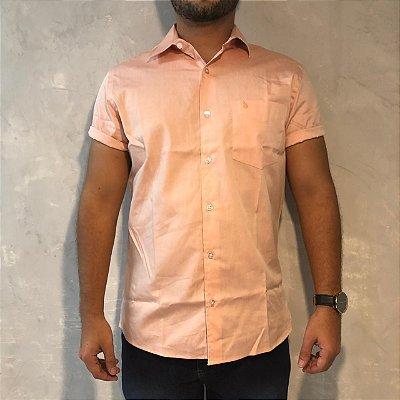 Camisa de Botão Coral Sem Etiqueta