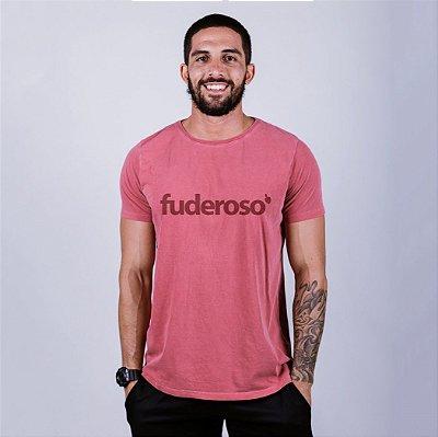Camiseta Estonada Fuderoso Goiaba
