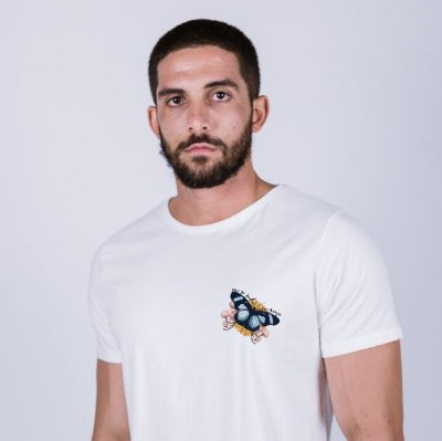 Camiseta Vai se Fuder meu anjo Off White