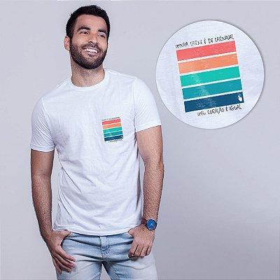 Camiseta Carne de Carnaval Branca