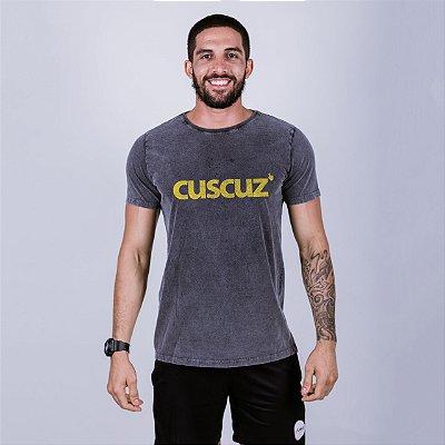 Camiseta Estonada Cuscuz Marmorizada