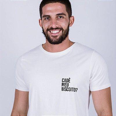 Camiseta Cadê meu biscoito ? Off White
