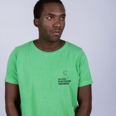 Camiseta Estonada Psicotrópico Verde