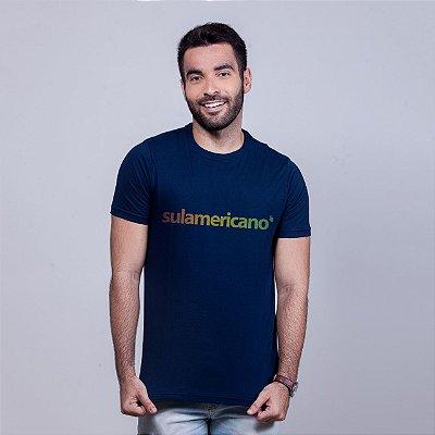 Camiseta Sulamericano Azul Marinho