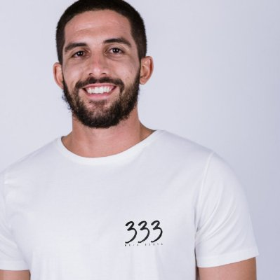 Camiseta 333 Meio-Besta Off White
