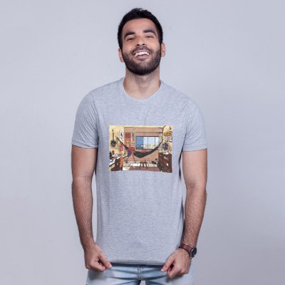 Camiseta Lo-Fi Natal Mescla Amandrafts