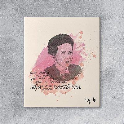 Quadro Simone de Beauvoir