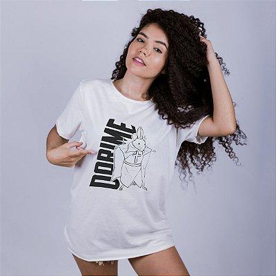 Camiseta A Fio Dorime Off White Amandrafts