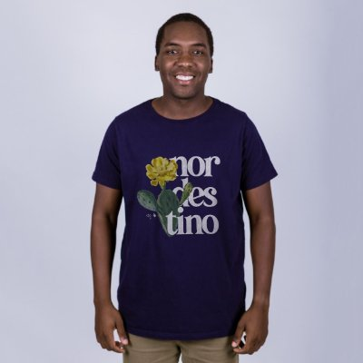 Camiseta Nordestino Marinho