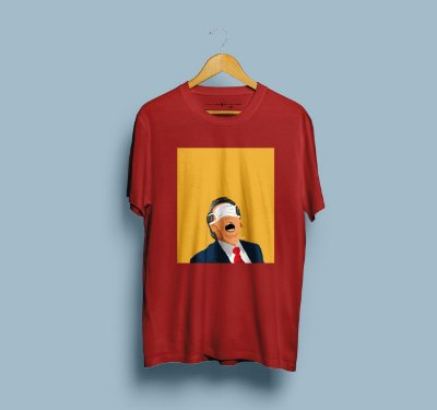 Camiseta Bonorovirus Vermelha