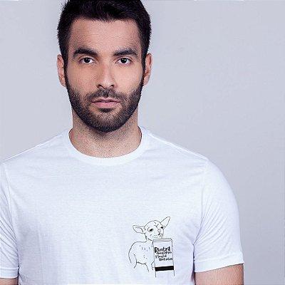 Camiseta Figurinha Rivotril Branca