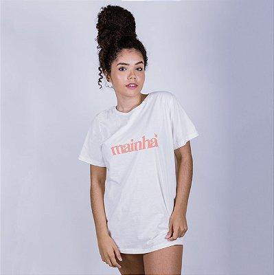 Camiseta Mainha 2020 Off White