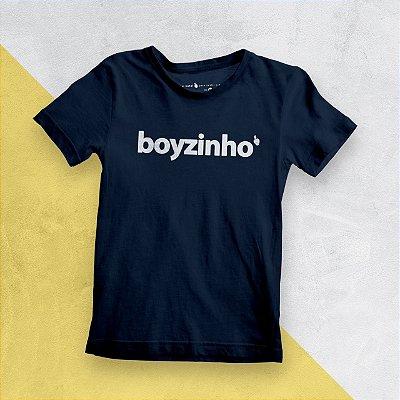 Camiseta Infantil Boyzinho Marinho