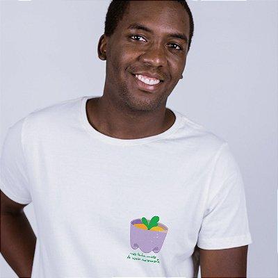 Camiseta Plantinha Off White Endrew