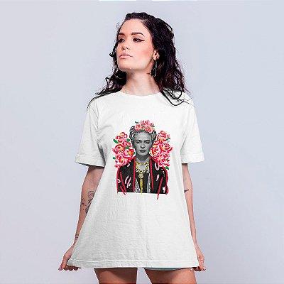 Camiseta Frida Kahlo Branca