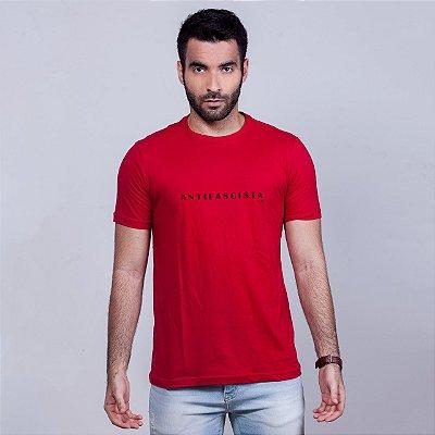 Camiseta Antifacista Vermelha