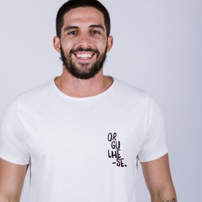 Camiseta Orgulhe-se Off White