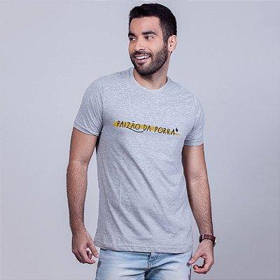 Camiseta Paizão da Porra 2020 Mescla