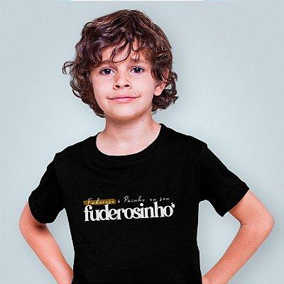 Camiseta Infantil Sou Fuderosinho 2020 Preta