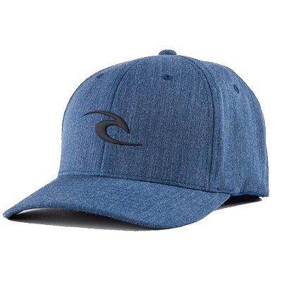 Boné Rip Curl Aba Curva Tepan Weld Curve Peak Azul