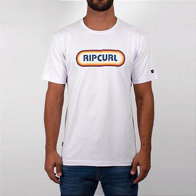 Camiseta Rip Curl Pilulle Tee Masculina Branco