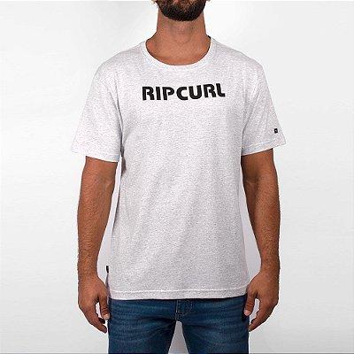 Camiseta Rip Curl Pump Tee Masculina Off White