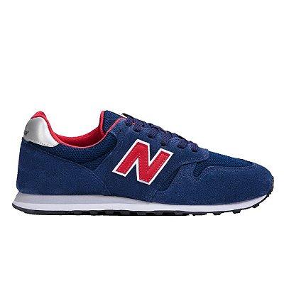 Tênis New Balance 373 Masculino Azul/Vermelho