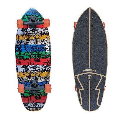 Simulador Surf Longboard NitroSK8 Batik 29x10'
