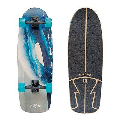 Simulador Surf Longboard NitroSK8 Wave Round 30x10'