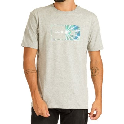 Camiseta Hurley Silk Effect Masculina Cinza