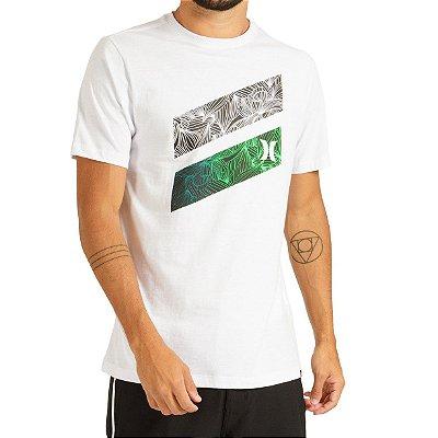 Camiseta Hurley Silk Icon Slash Masculina Branco