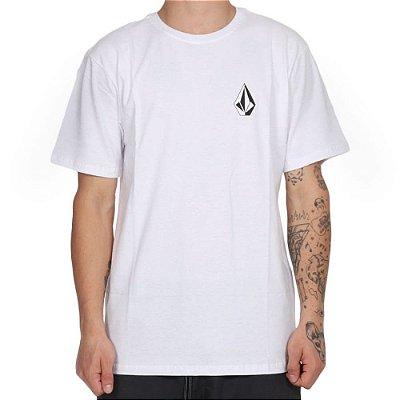 Camiseta Volcom Deadly Stone Masculina Branco