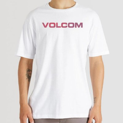 Camiseta Volcom Euro Masculina Branco