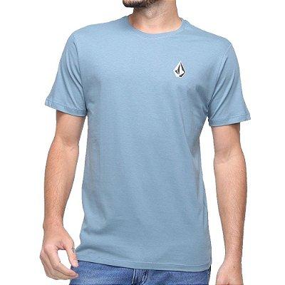 Camiseta Volcom Deadly Stone Masculina Azul